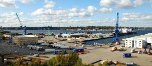 Seit 2009 hat der Seehafen den Ostuferhafen in Kiel durch rechtzeitige Investitionen zukunftsfähig aufgestellt.