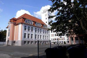 Schulhof der Kaethe-Kollwitz-Schule