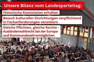Foto Landesparteitag