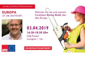 """Veranstaltung """"Dein Europa"""" mit Enrico Kreft"""