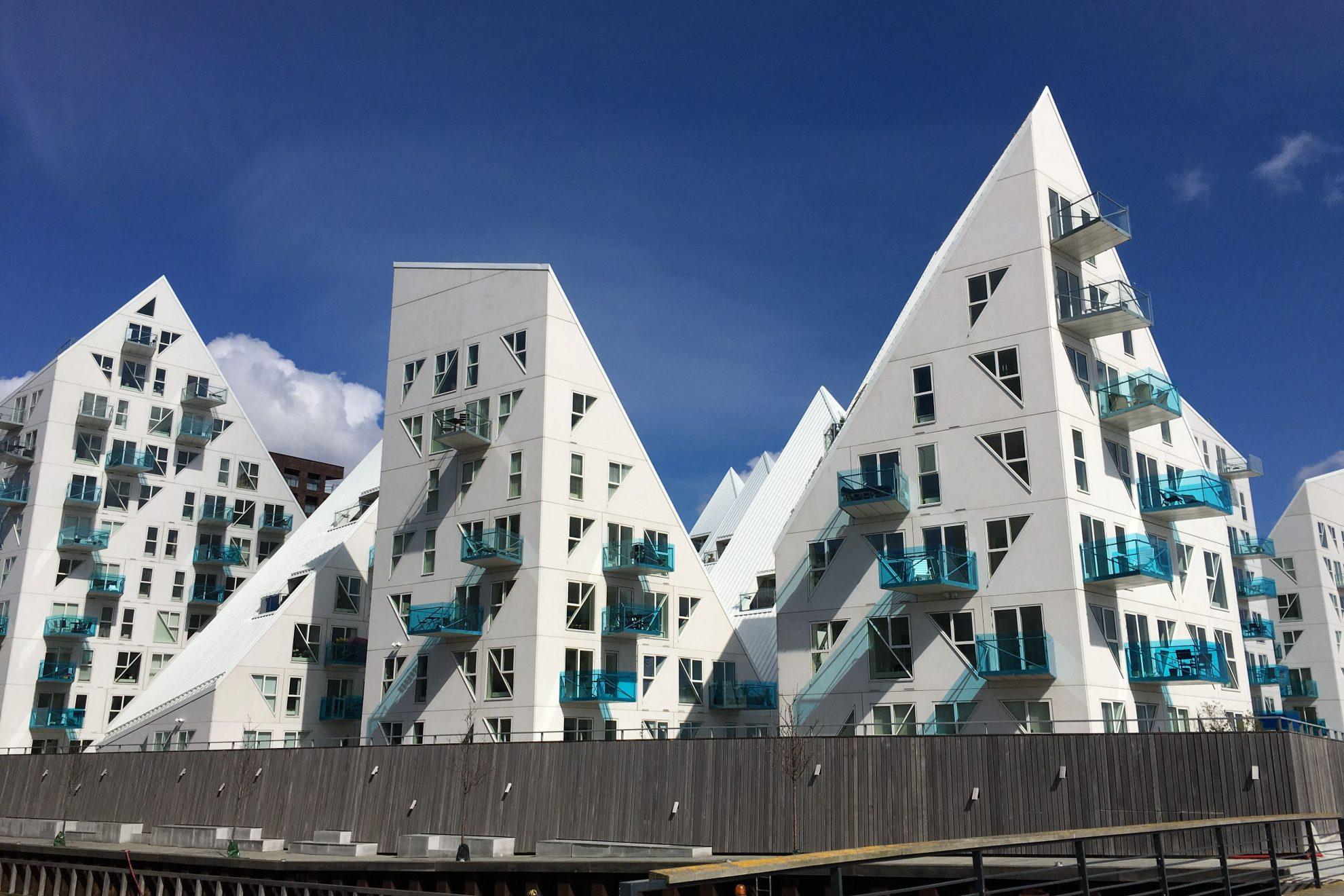 Neubauten in Aarhus, Dänemark