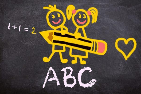 ABC, Lernen, Schule
