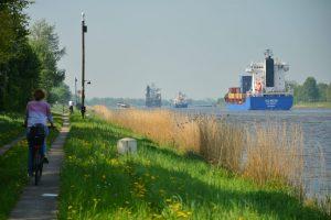 Radtour am Kanal