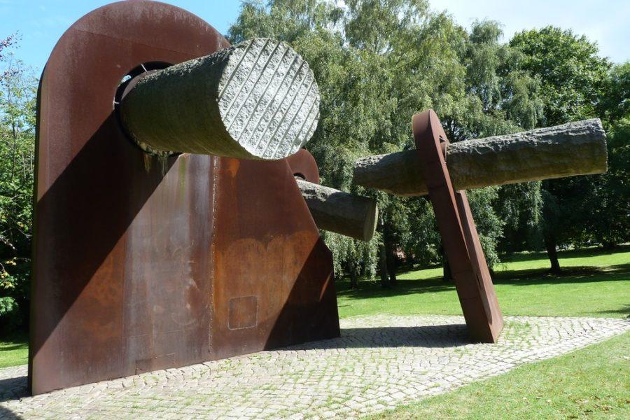 Breuste-Denkmal in Kiel, Ratdienergarten