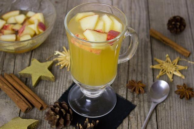 Punsch Apfel Äpfel Apfelsaft Amaretto Mandeln