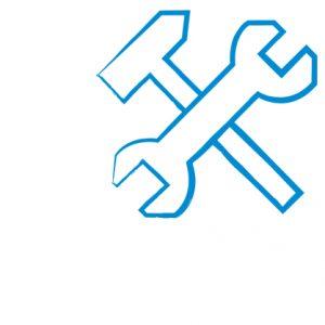 Ein Symbol für das Politikfeld Bau