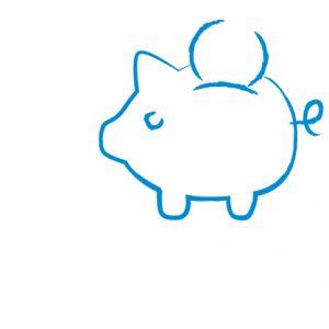 Ein Symbol für das Politikfeld Finanzen