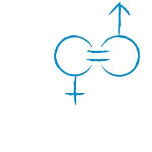 Ein Symbol für das Politikfeld Gleichstellung
