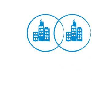 Ein Symbol für das Politikfeld Städtepartnerschaften