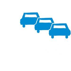 Ein Symbol für das Politikfeld Verkehr