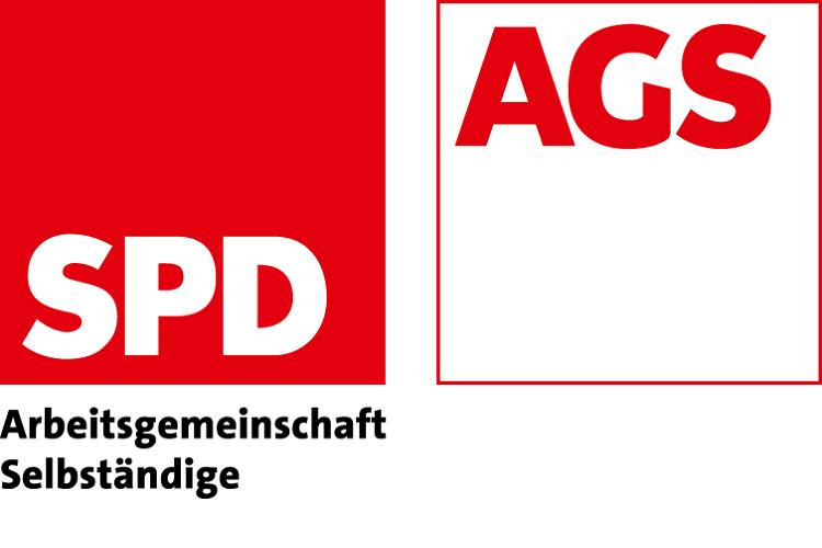 Logo SPD AGS Arbeitsgemeinschaft Selbständige