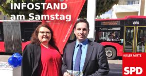 SPD Kieler Mitte Infostand