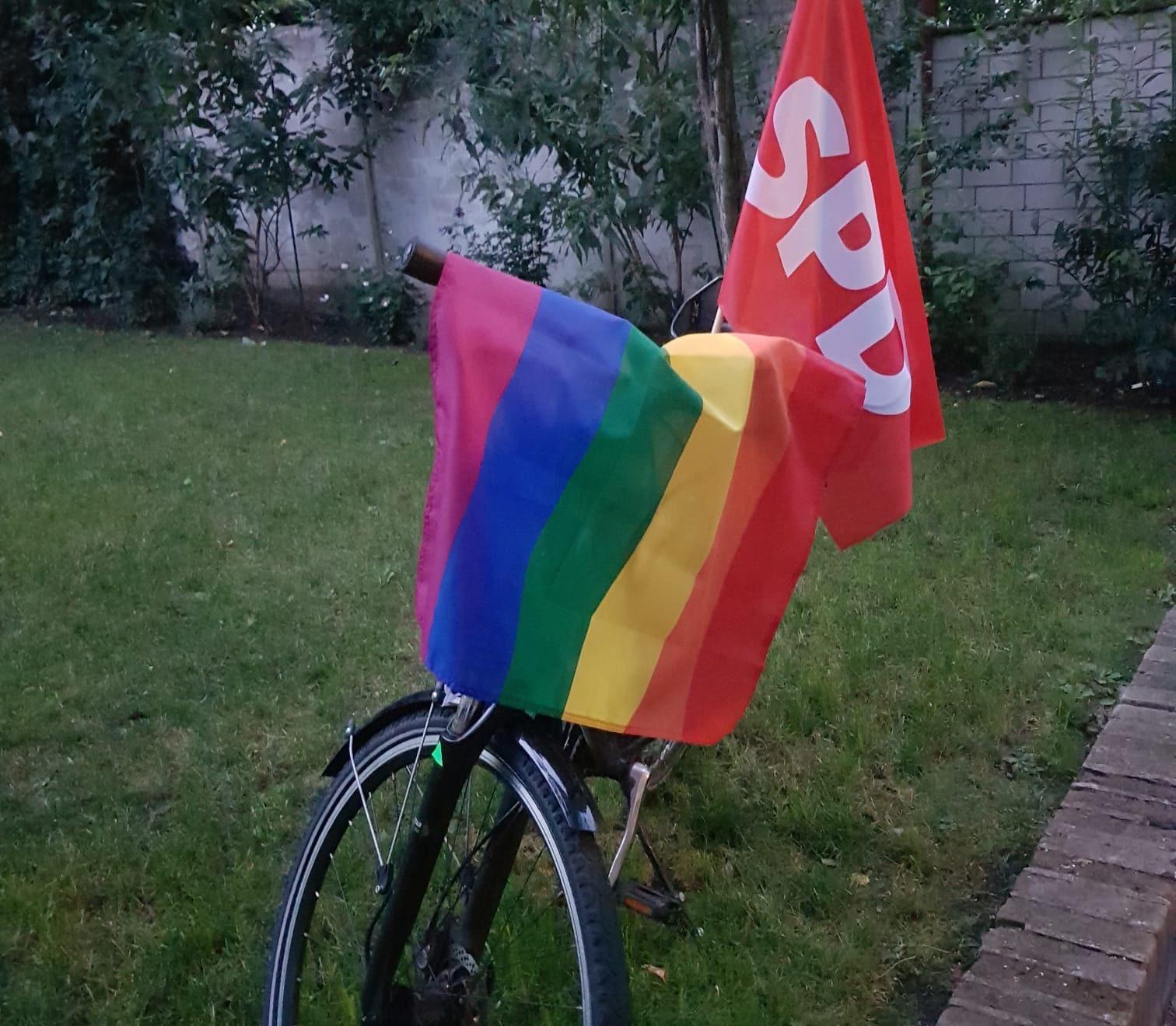 CSD Fahrraddemo