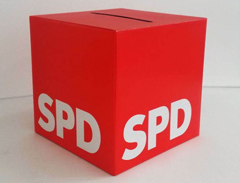 SPD Wahlurne