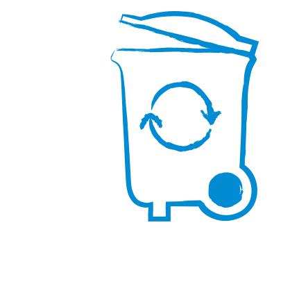 Ein Symbol für das Politikfeld Abfall