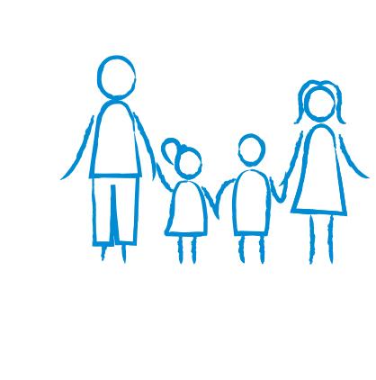 Ein Symbol für das Politikfeld Familie
