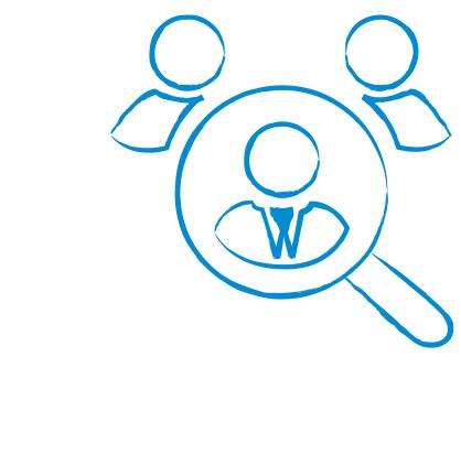 Ein Symbol für das Politikfeld Personal
