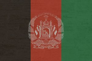 Flagge Afghanistan 2013 bis 2021
