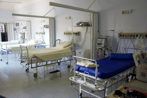 Zimmer im Krankenhaus